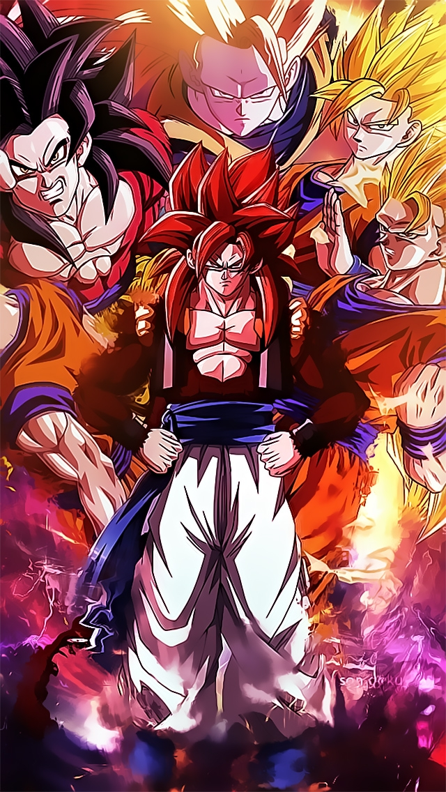 Son Goku Dragon Ball Wallpaper   iPhone Wallpapers 640x1136