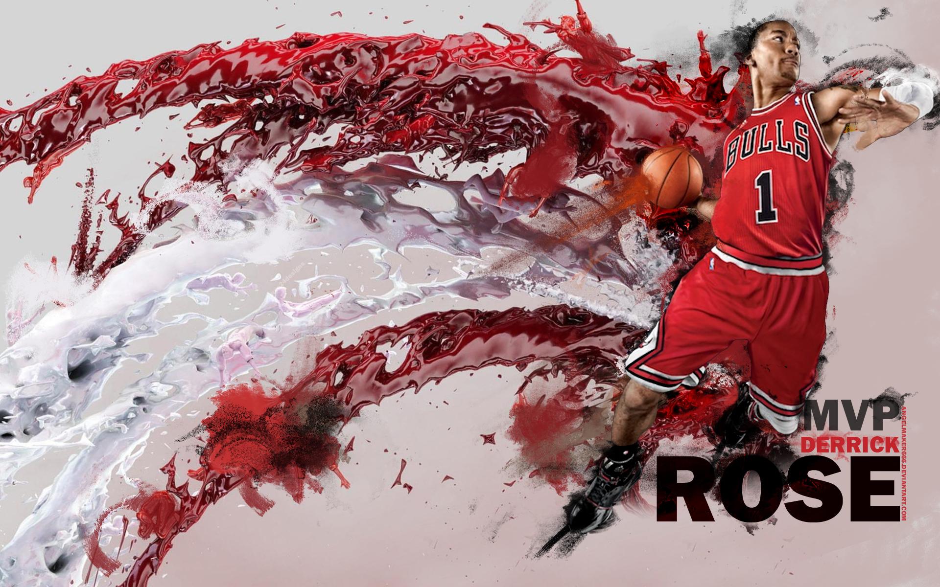 Derrick Rose MVP wallpaper Source24Designs   RealGM 1920x1200