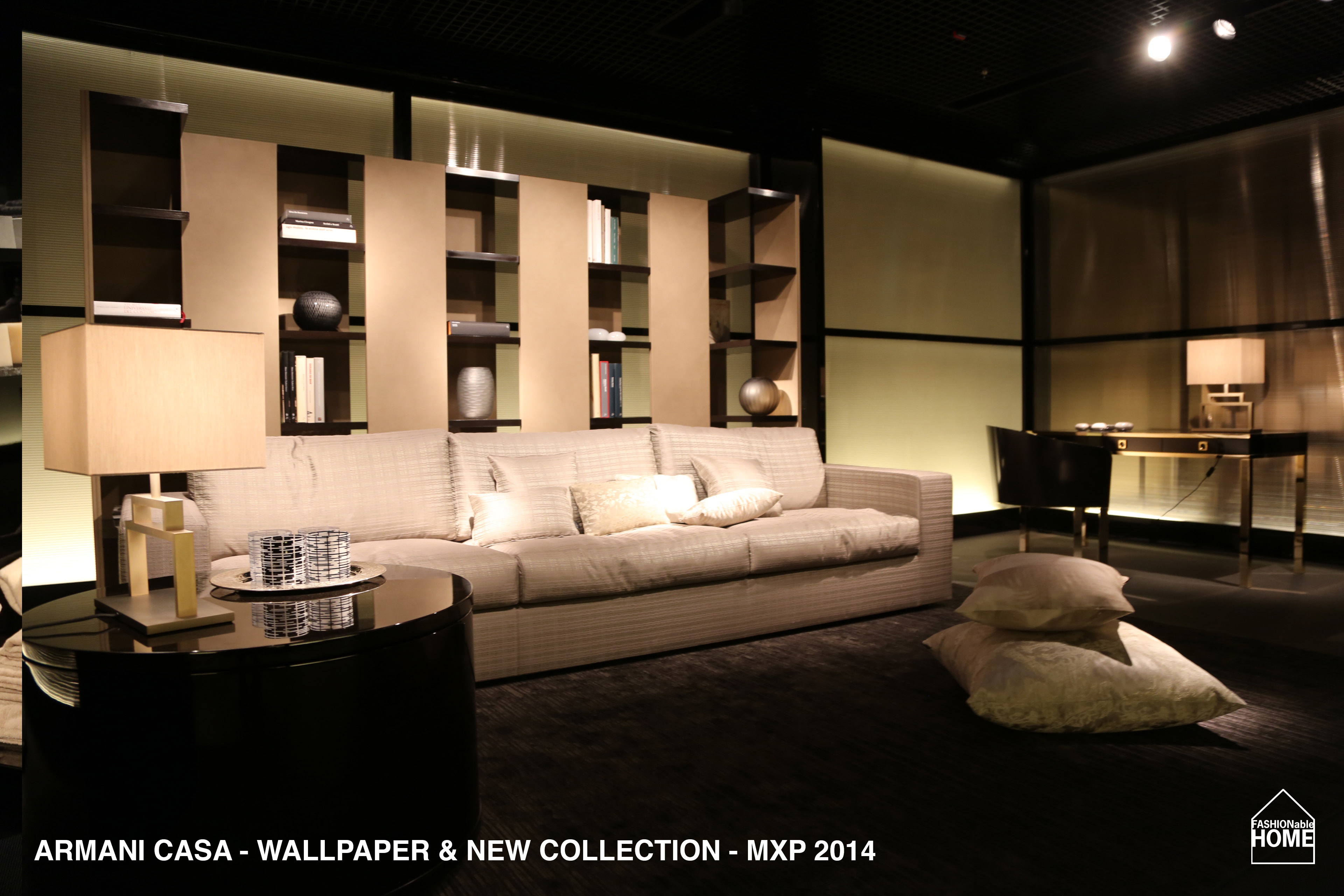 New ARMANI CASA Wallpapers collection items Milano 2014 3840x2560