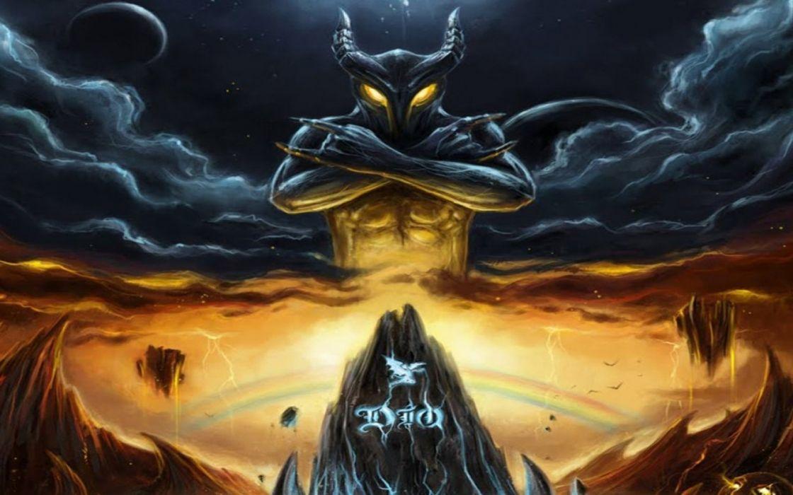 RONNIE JAMES DIO heavy metal fantasy dark demon poster rh 1120x700