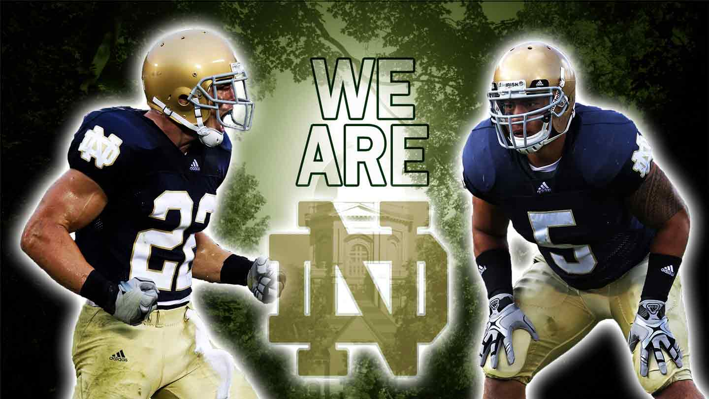 Notre Dame Football Desktop Wallpaper loopelecom 1440x810