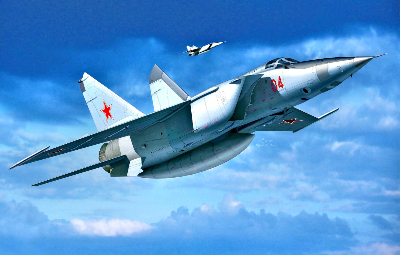 Wallpaper THE SOVIET AIR FORCE The MiG 25 Supersonic aircraft 1332x850