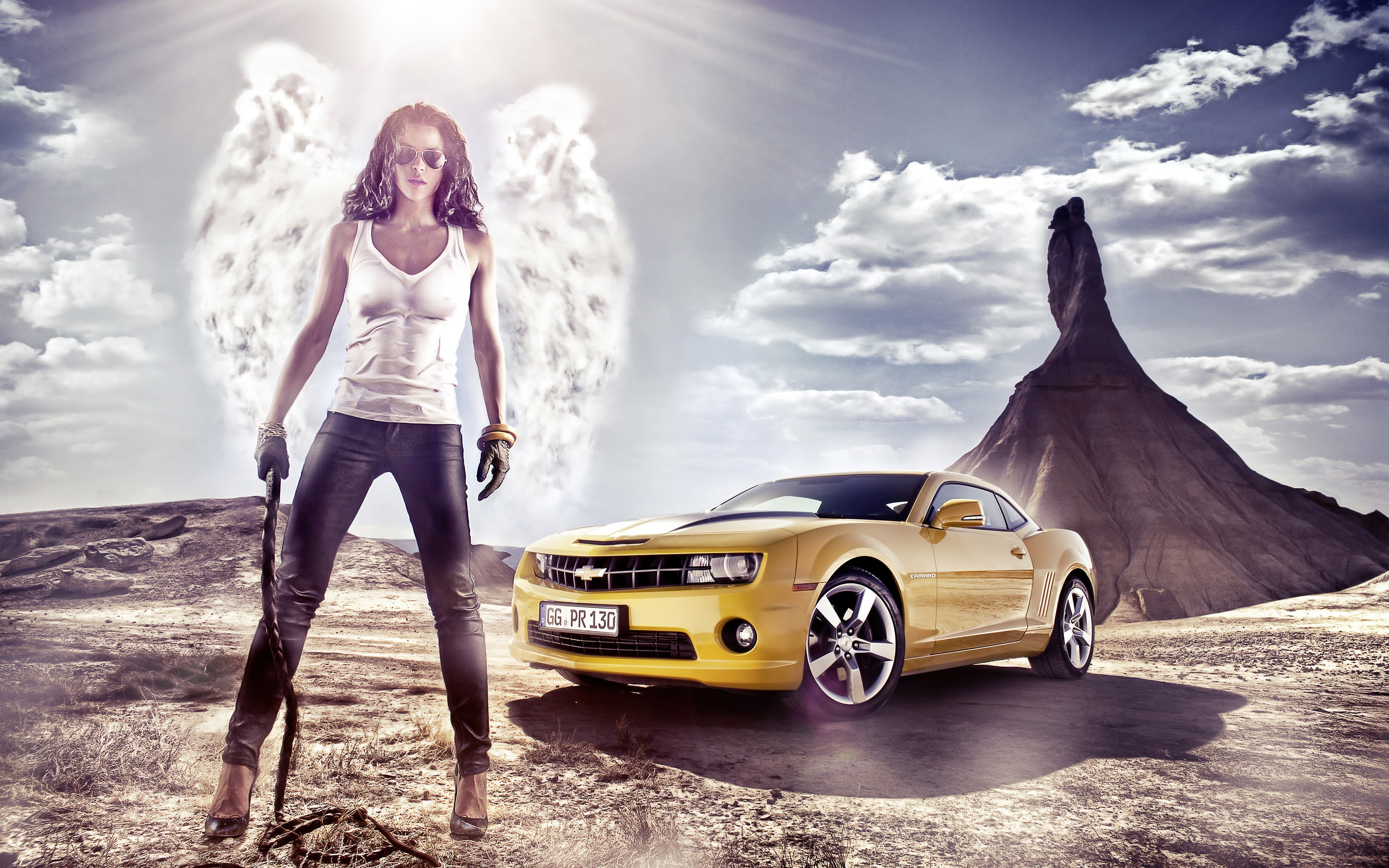 41 chevy girls wallpapers on wallpapersafari - Muscle car girl wallpaper ...