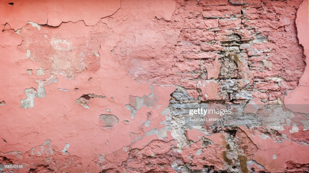 Weathered And Plastered Pink Wall Background Stock Photo   Getty 1024x573
