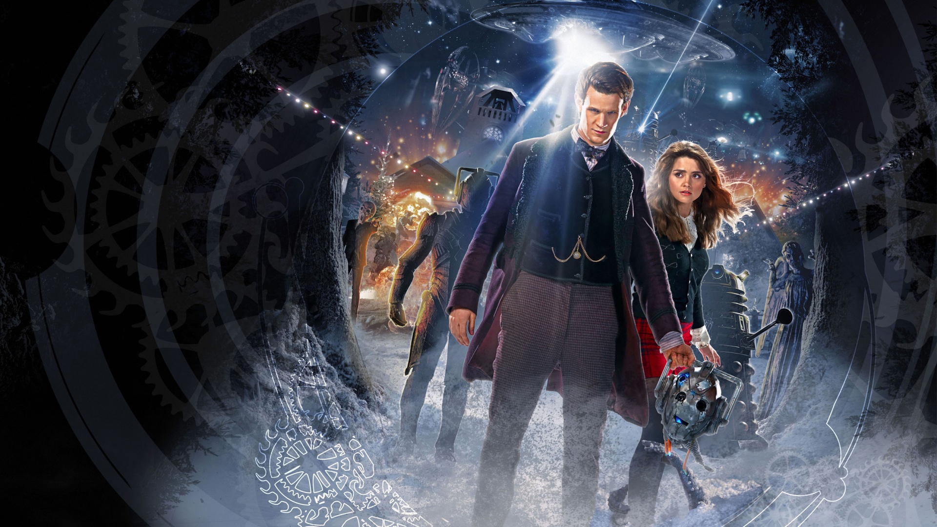 Doctor Who Time of the Doctor wallpaper 1920x1080