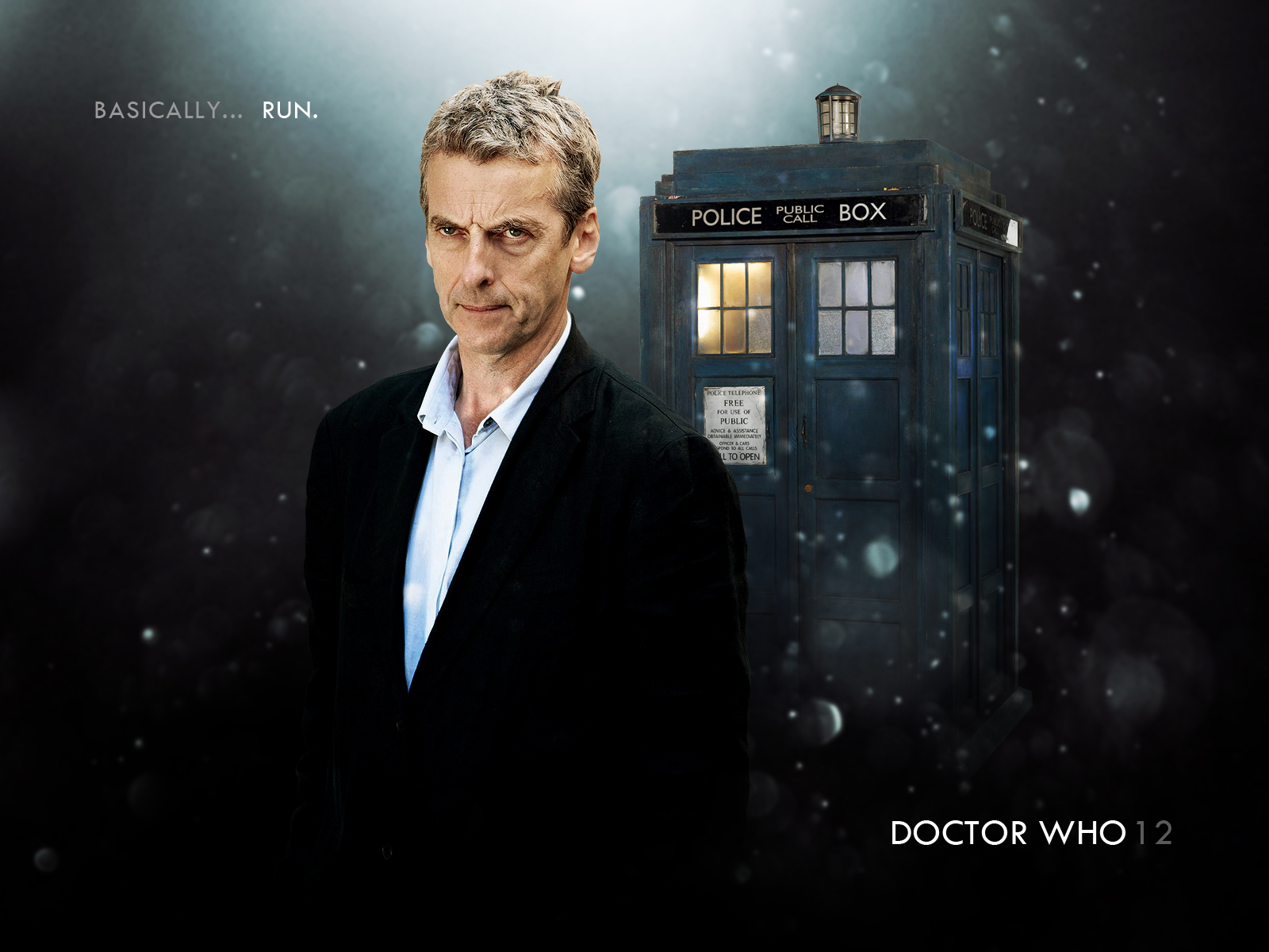 Doctor Who 12   Peter Capaldi by drksde 1600x1200