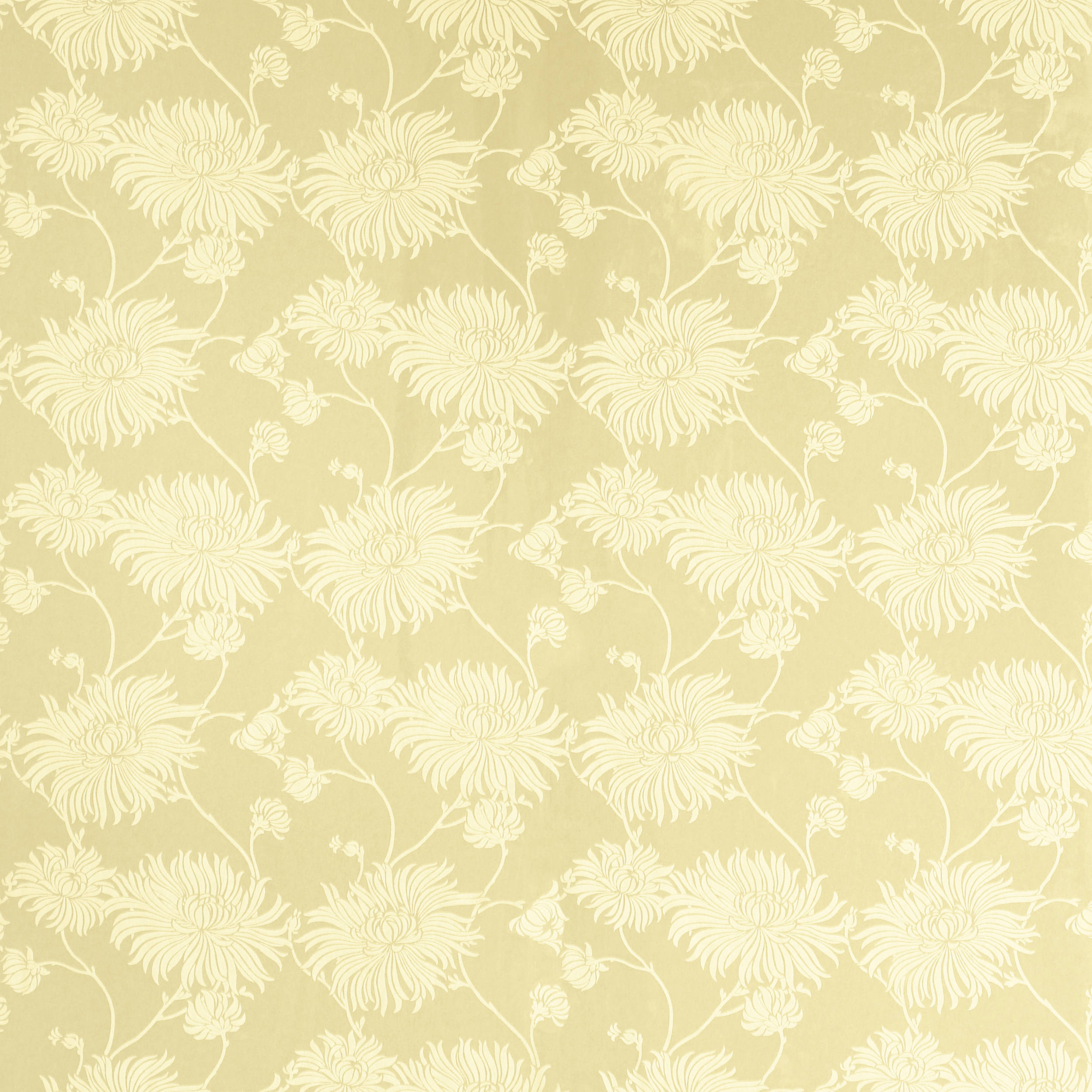 Home Decorating Wallpaper Kimono Gold Floral Wallpaper 2500x2500