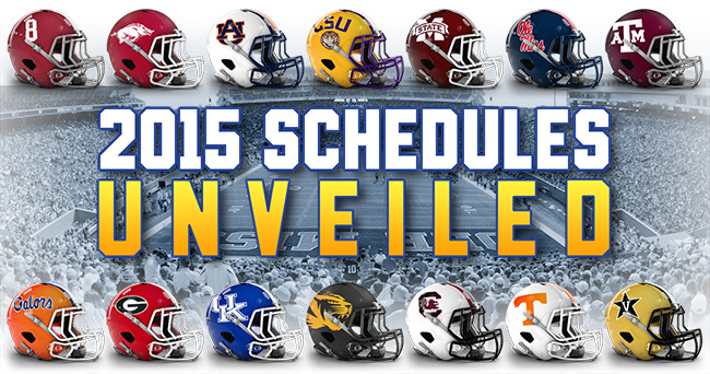 2015 SEC football schedule unveiled 650x342