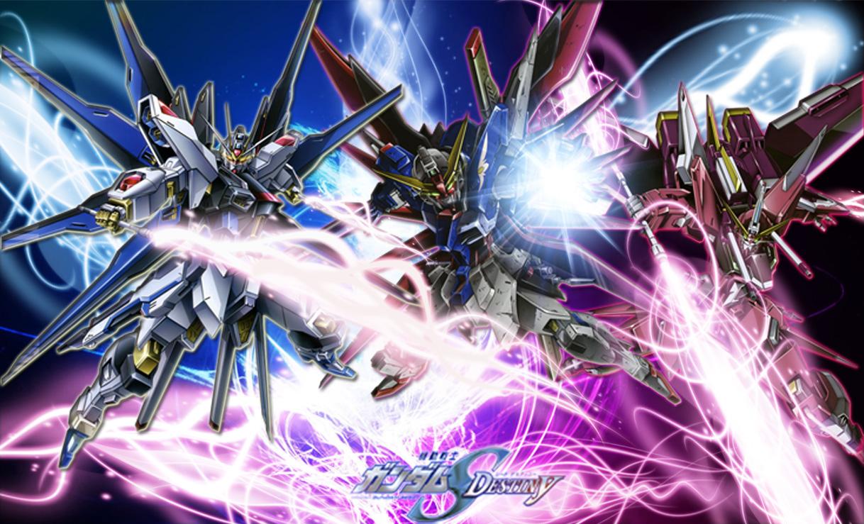 73 Gundam Seed Destiny Wallpaper On Wallpapersafari