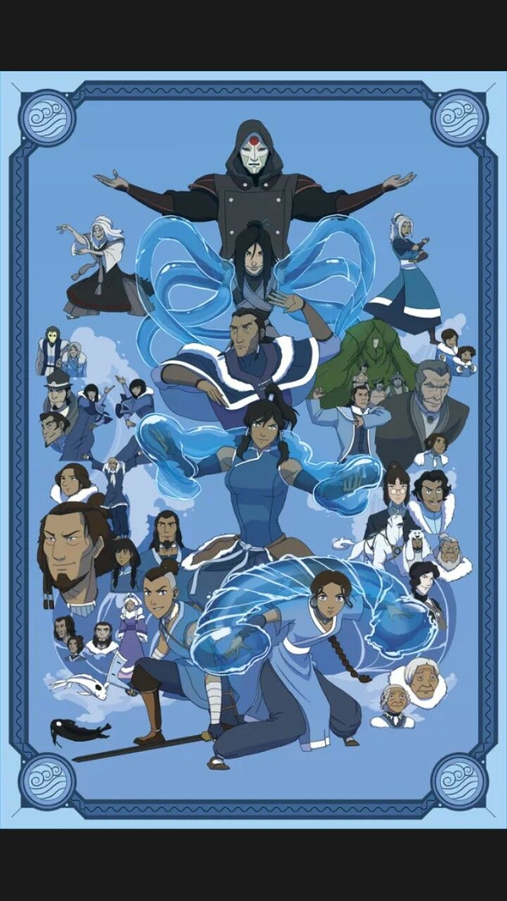 Waterbenders Avatarrrr Avatar the last airbender art 720x1280