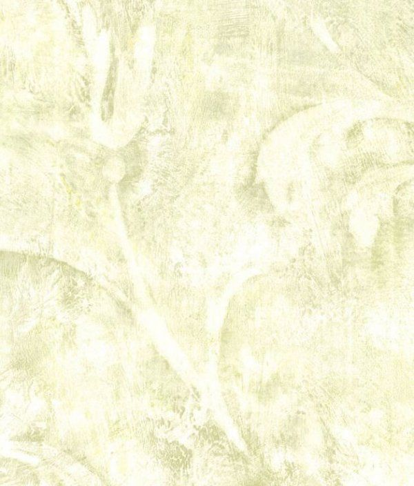 Wallpaper by The Yard Scrolling Leaf Impression Faux Distressed 600x704