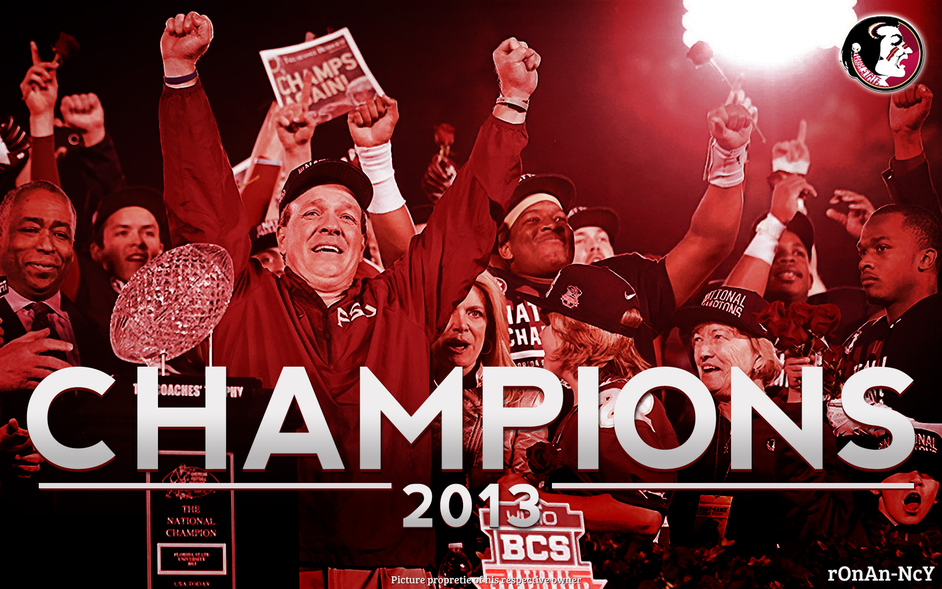 Florida State Seminoles National Champions by rOnAn Ncy 1920x1200