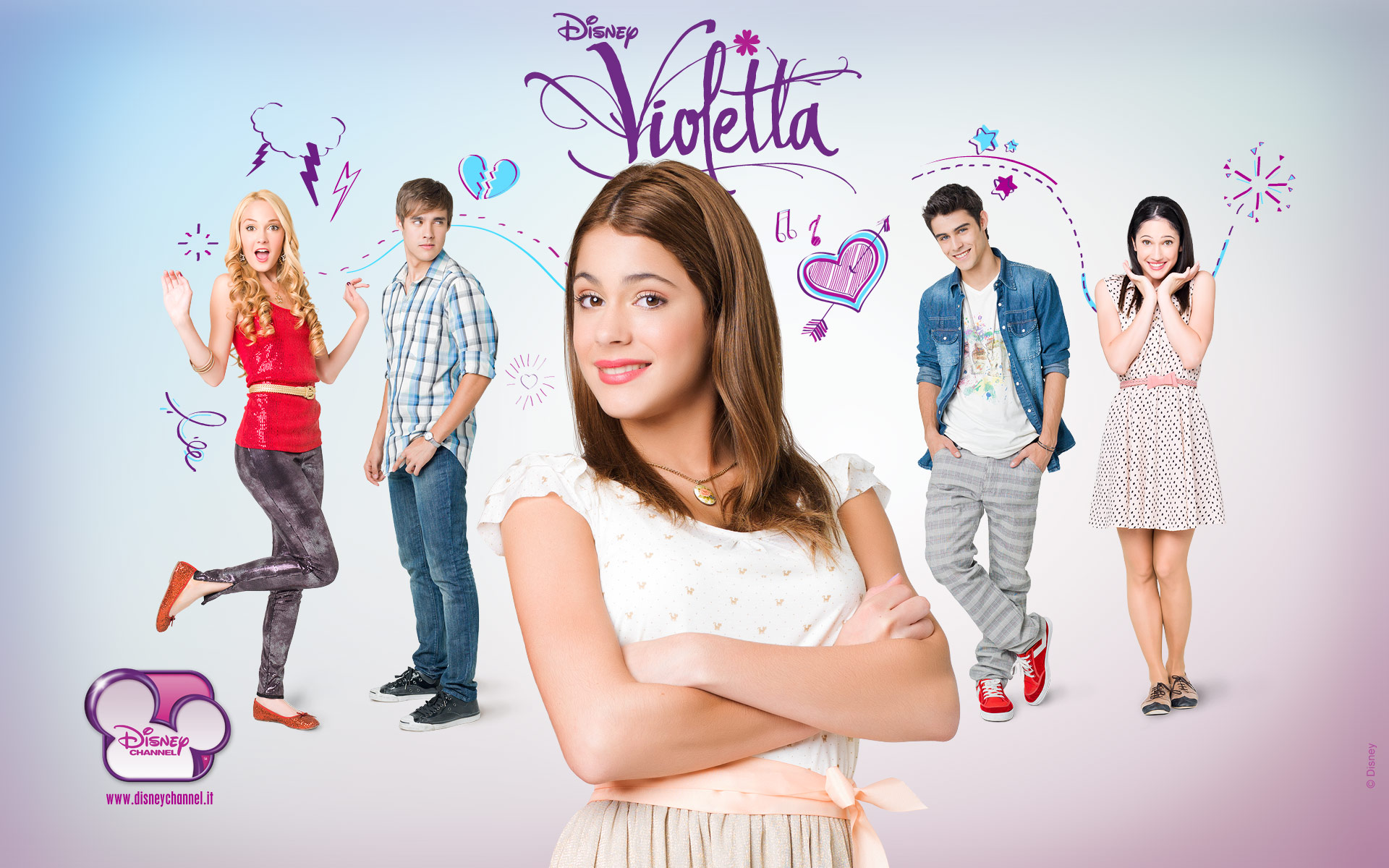 Violetta Cast Wallpaper   Violetta Wallpaper 32130069 1920x1200