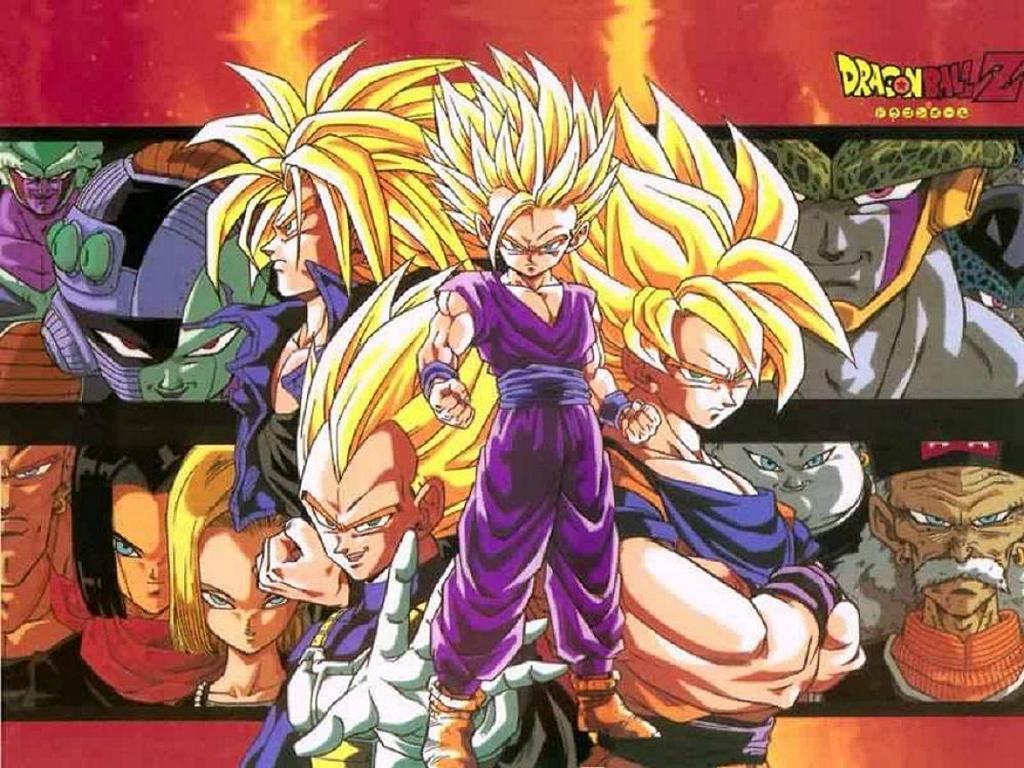 Dragon Ball Z Wall Paper: DBZ Wallpapers HD All Saiyans