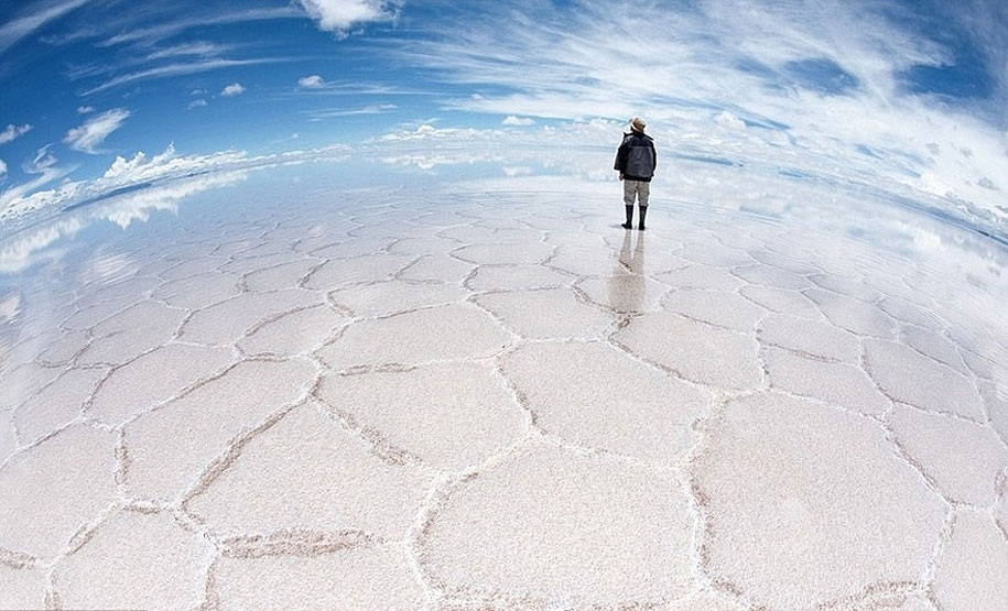 Wonders Of the World picha Salar de uyuni Bolivia HD karatasi la 915x555