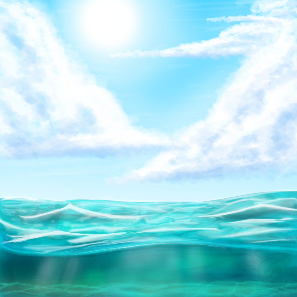 Ocean Background Images 1024x1024