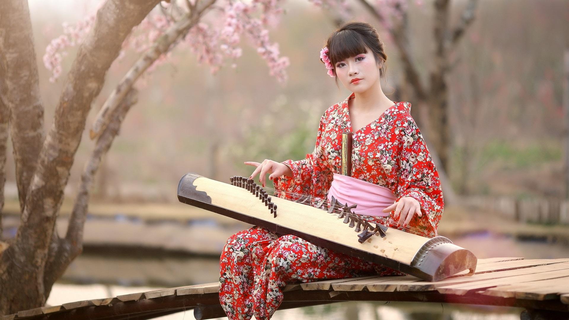 Japanese Kimono Wallpaper Wallpapersafari
