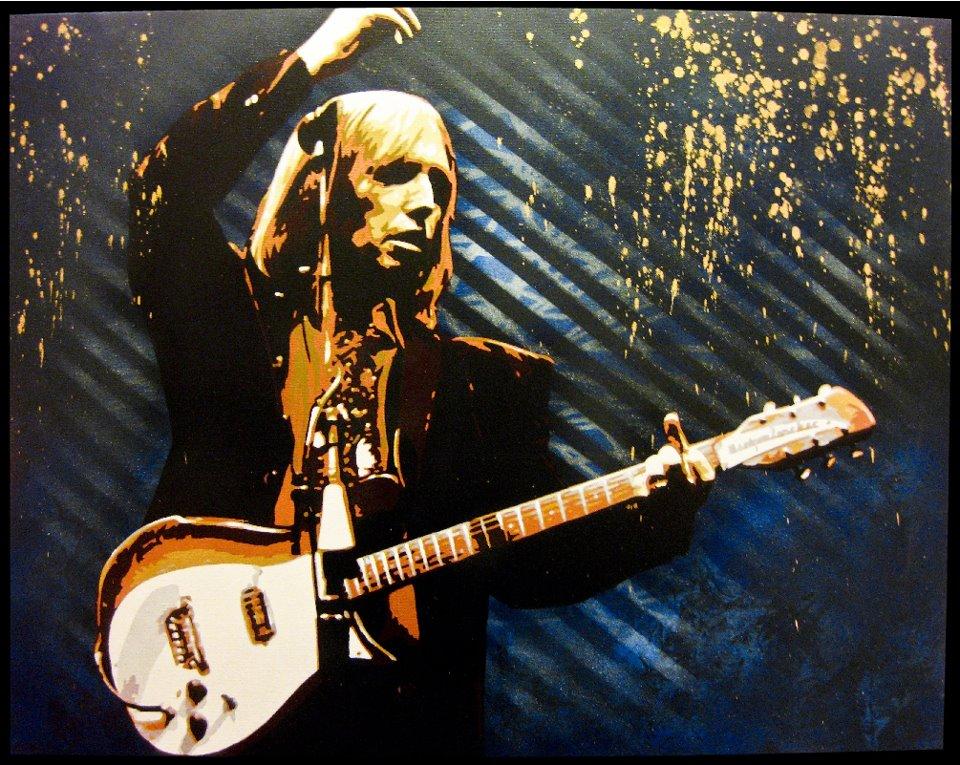 Tom Petty Ref B Z Art line Pinterest 960x765