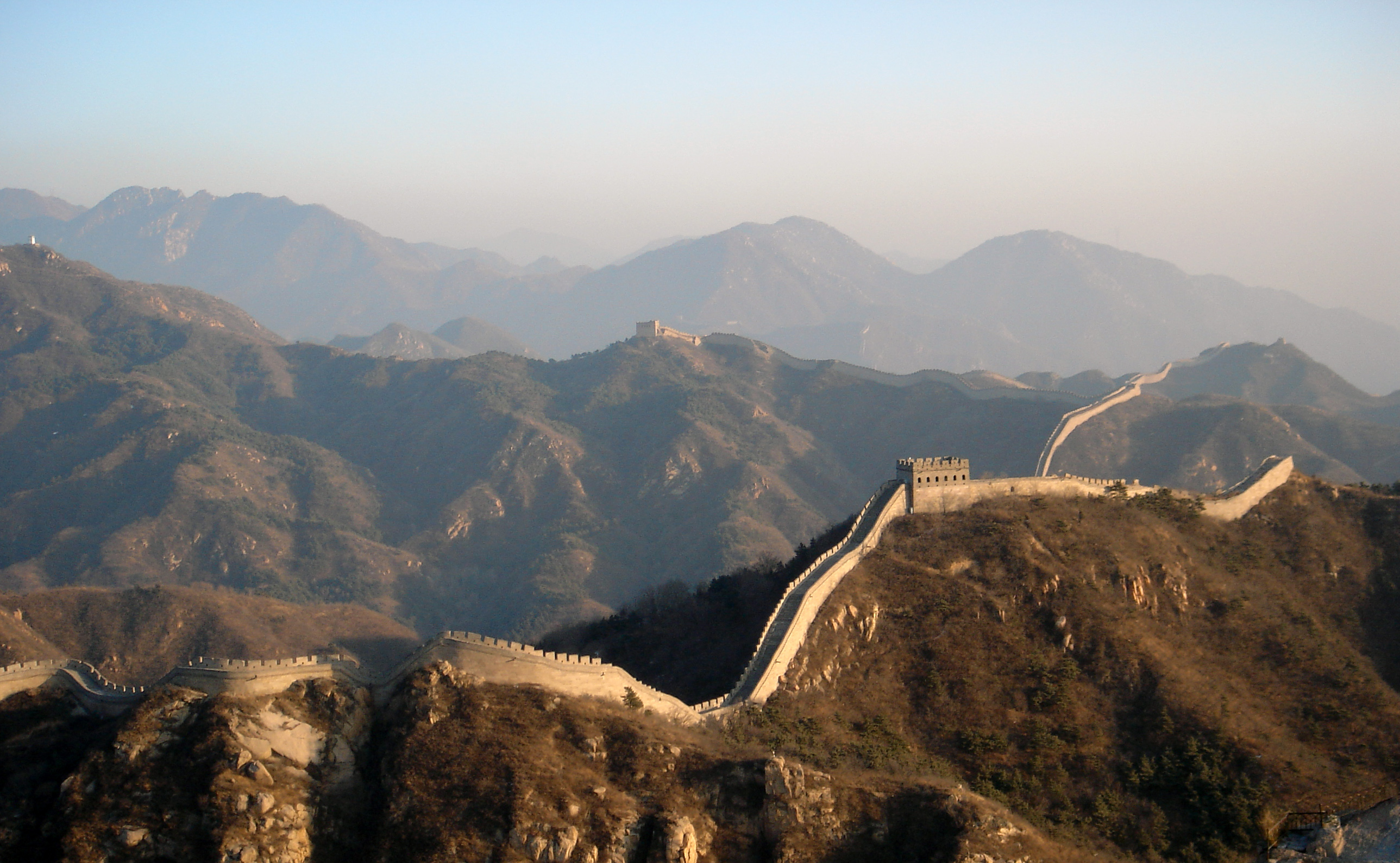 Great Wall of China HD Wallpaper Background Image 2577x1590 2577x1590