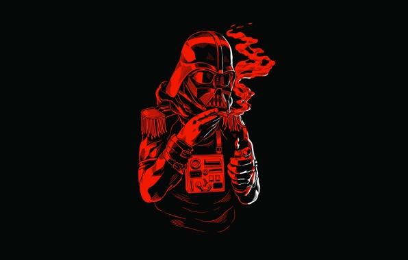 Wallpaper dark vader star wars helmet cigariilo lighter fringes 596x380