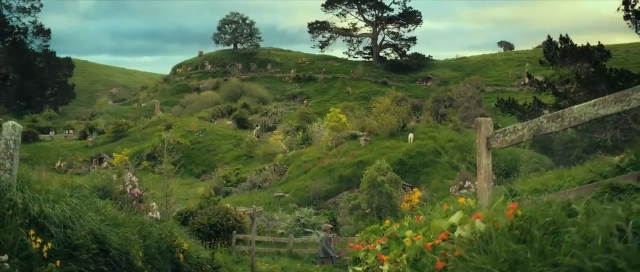 The Shire The Hobbit Wallpaper The shire image is courtesy 1280x544