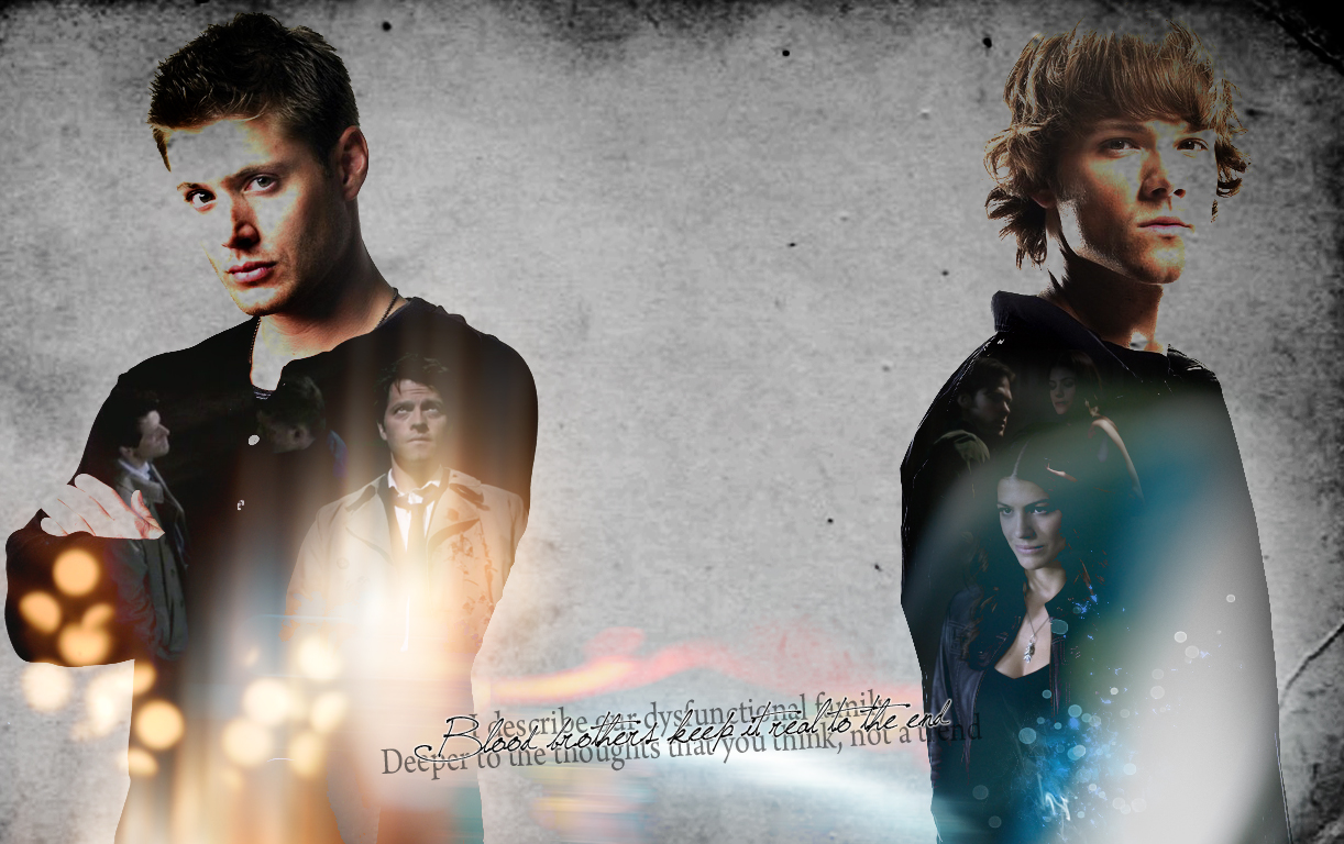 Free Download Dean Sam Castiel And Ruby By Lake90 1222x768 For