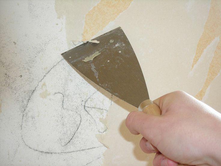 How to Remove Wallpaper Glue Mister Glue Pinterest 736x552