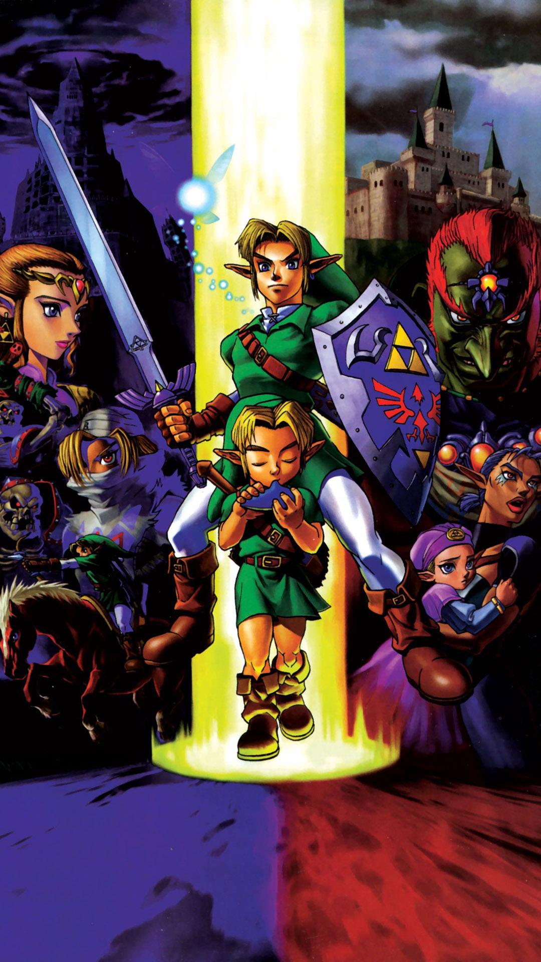 The Legend Of Zelda HTCWindows Phone X x  Wallpapers