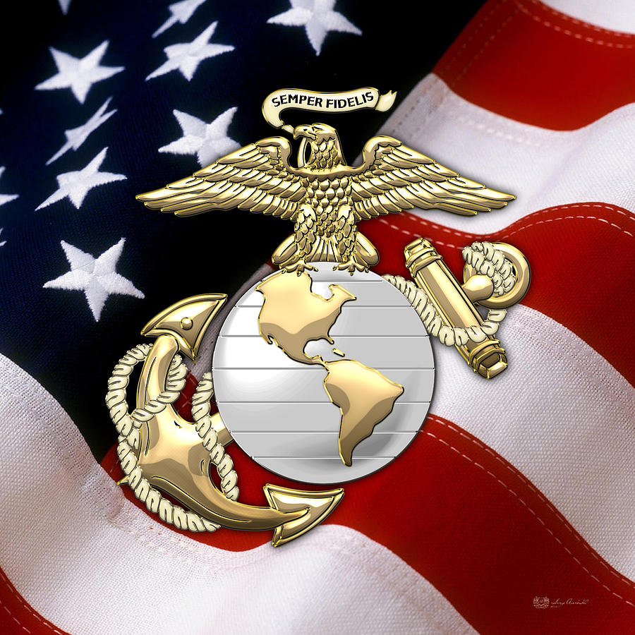 Marine Corps Wallpapers: Marine Flag Wallpaper