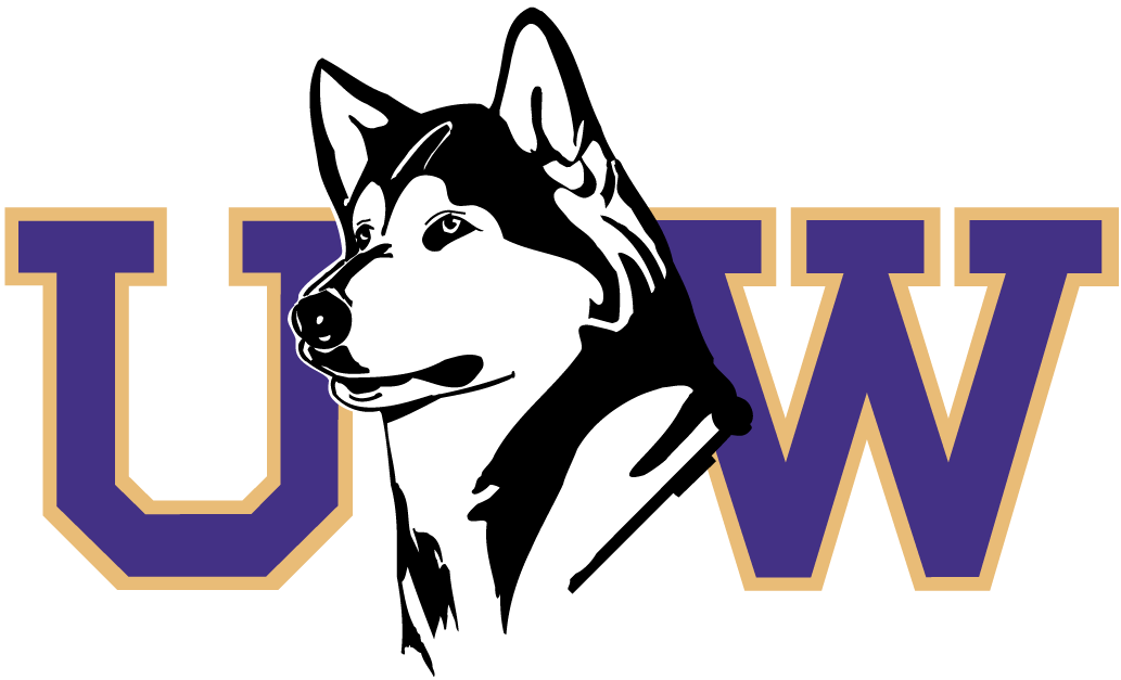 Washington Huskies Secondary Logo   NCAA Division I u z NCAA u z 1033x627