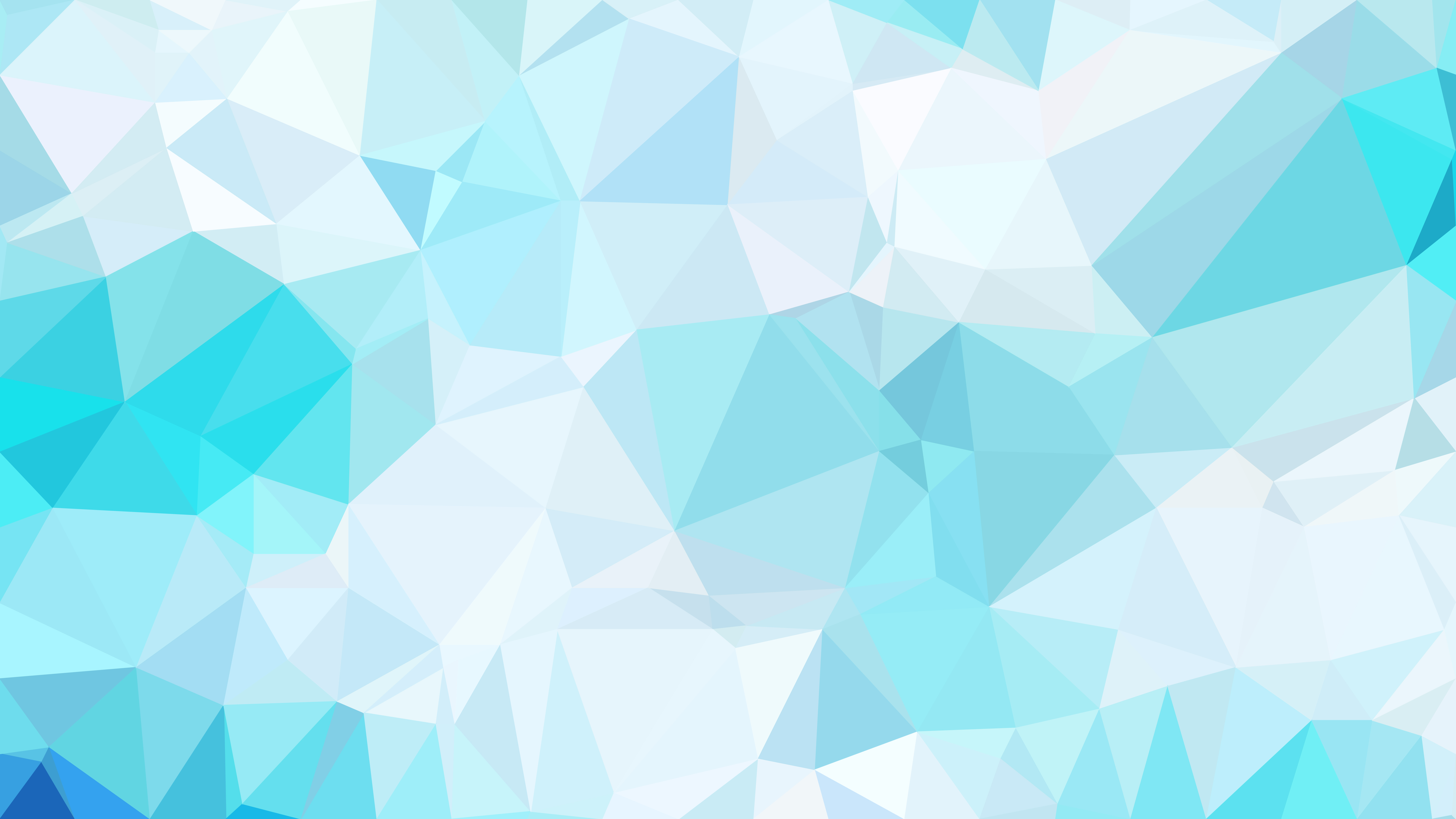 Blue and White Polygon Pattern Background Vector Art 8000x4500
