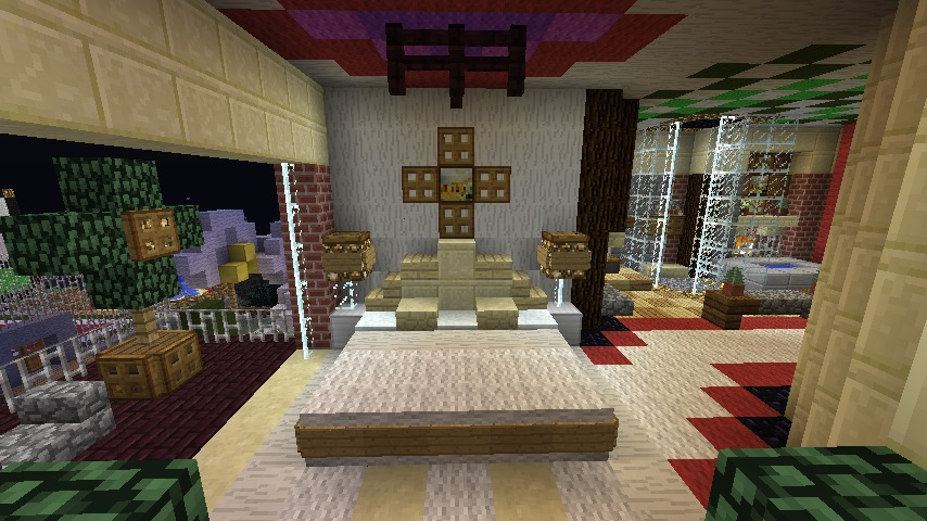 minecraft furniture bedroom bedroom ideas minecraft 854x480 854x480