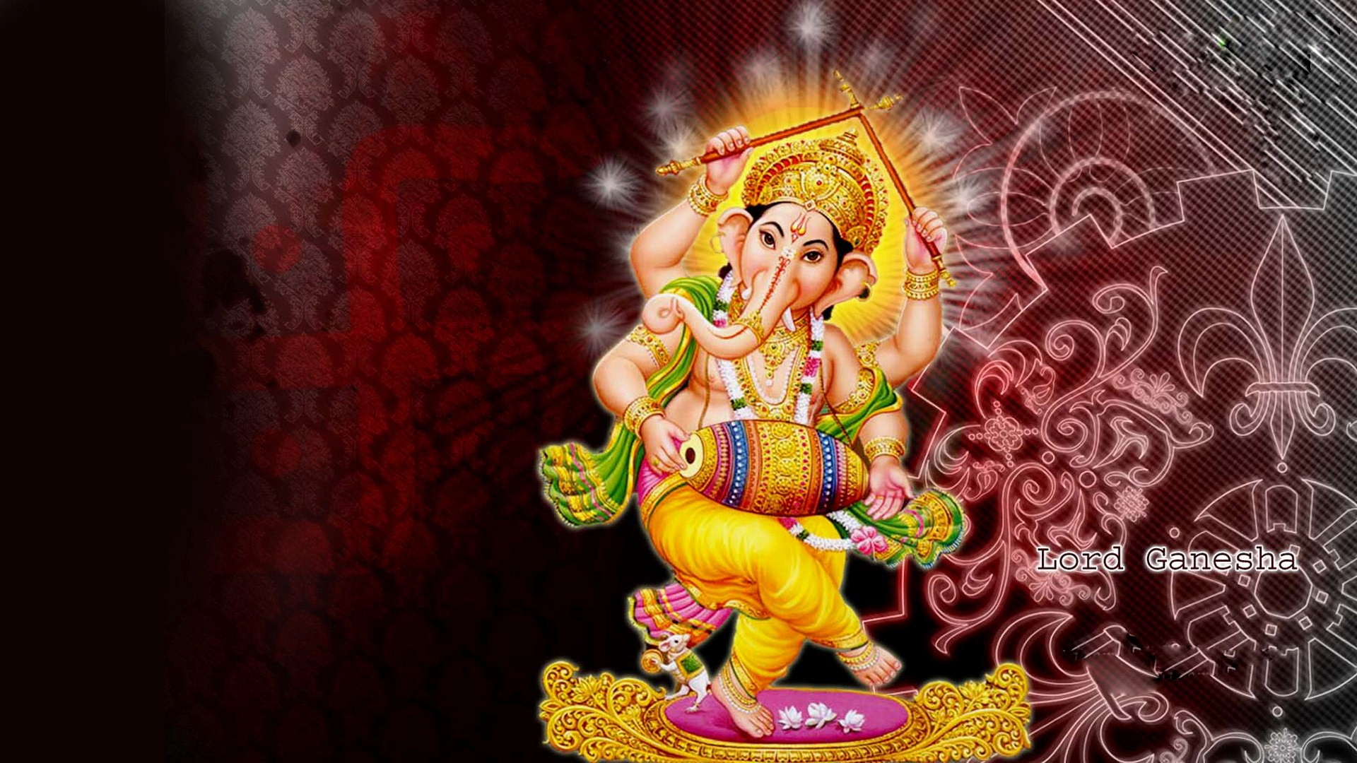 Lord Ganesha Indian God HD Desktop Wallpapers HD Wallpapers 1920x1080