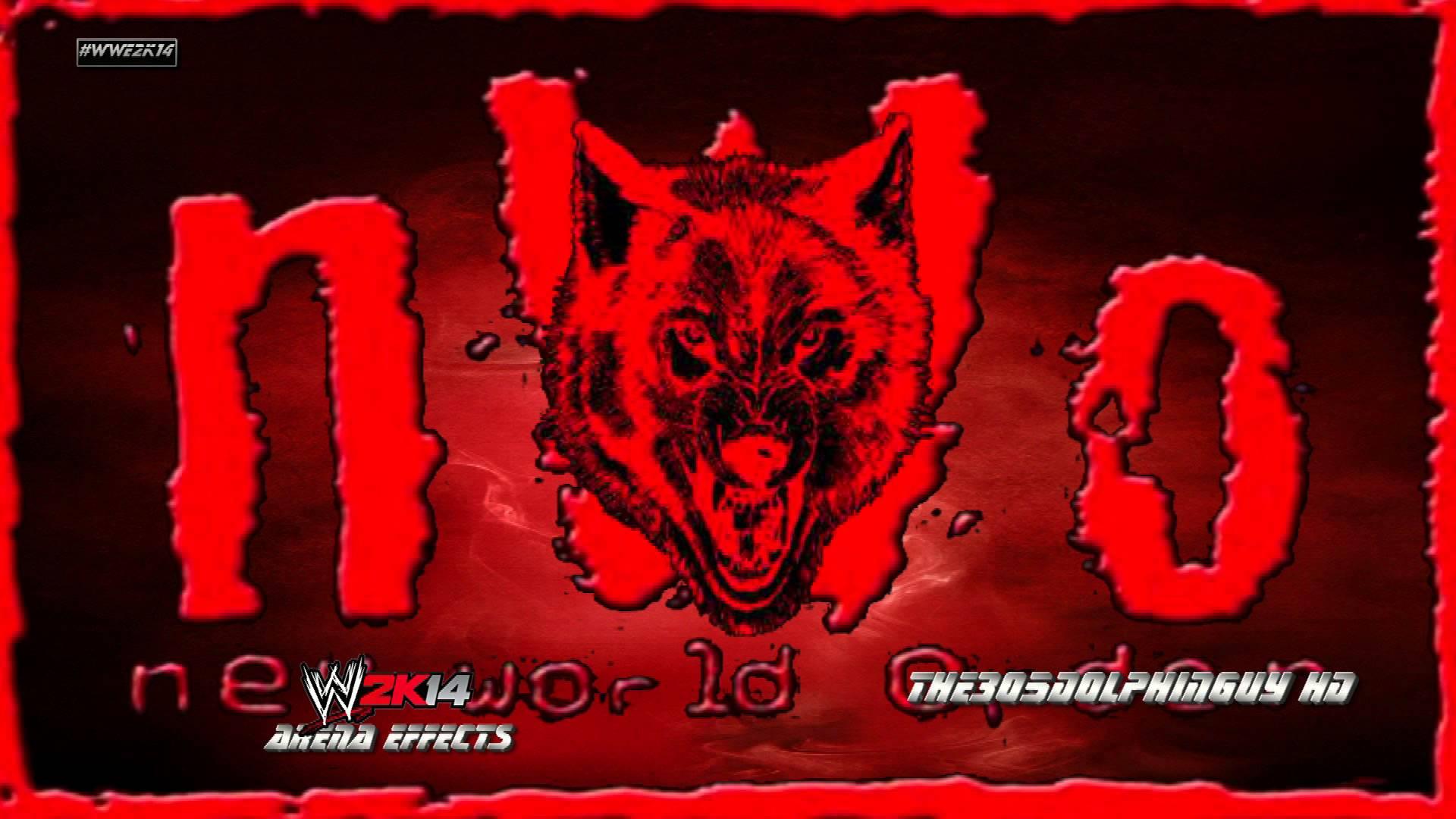 WWE 2K14 nWo WolfpacnWo Elite 1st Theme   Wolfpac Theme HQ Arena 1920x1080