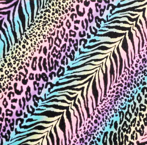 Rainbow Cheetah Print rainbow cheetah print wallpaper Multidao 500x496