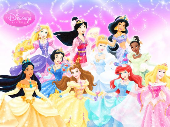 Disney Princesses NationalityEthnicity   Disney Princess 560x420