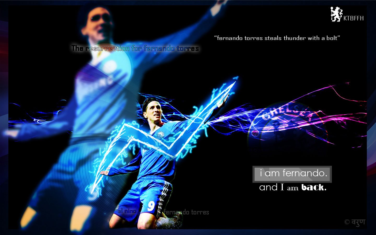 Football Players Fernando Torres Wallpapers 1440x900