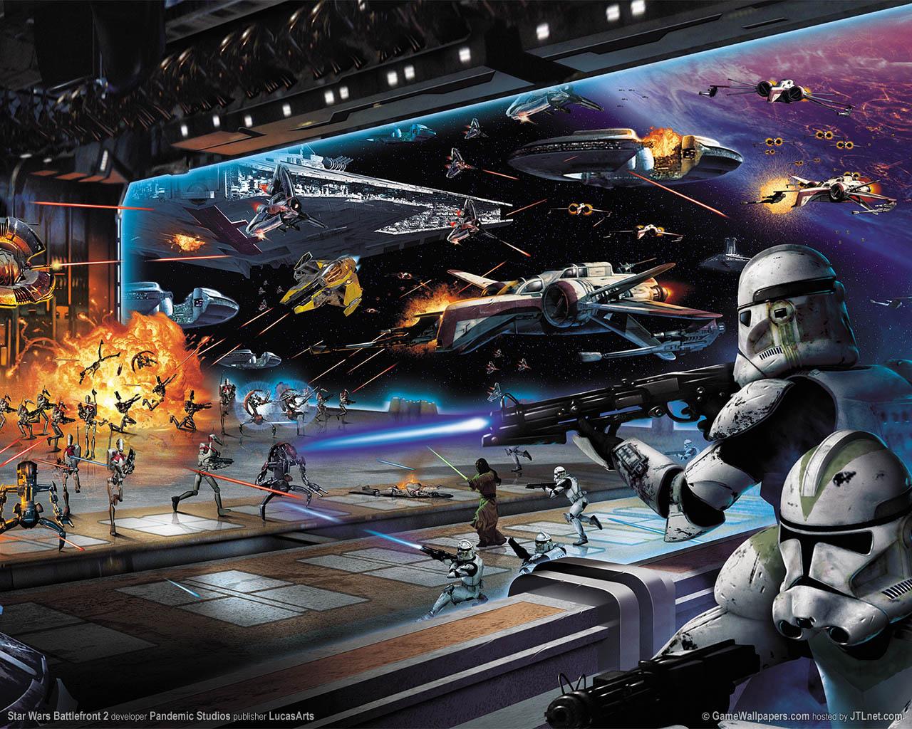 star wars battle wallpaper Star Wars Wallpaper 1280x1024