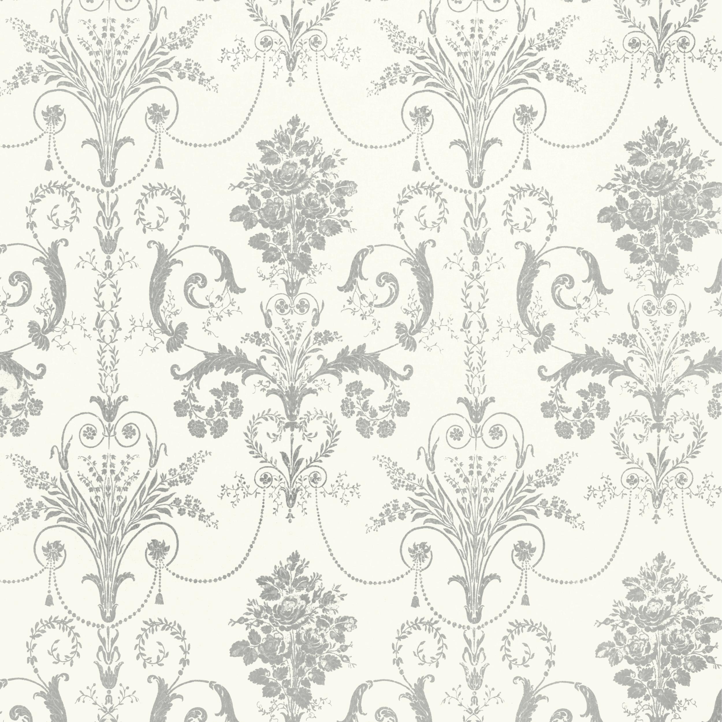 Home Decorating Wallpaper Josette Silver Glitter Wallpaper 2500x2500