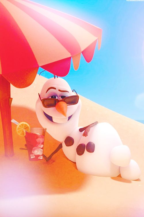 Olaf   frozen   disney wallpaper   in summer Frozen Pinterest 500x750