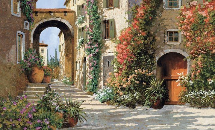 Home Interior Tuscany Italy Villa Cafe
