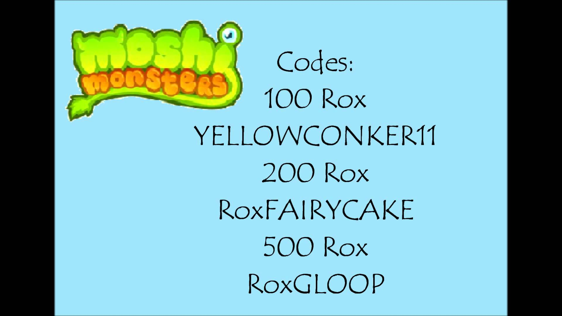 how to put codes in moshi monsters