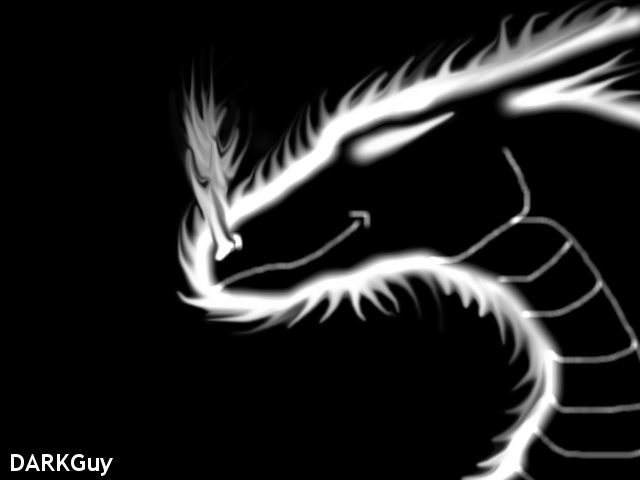 Black And White Dragon Wallpaper Black And White Dragon by 640x480