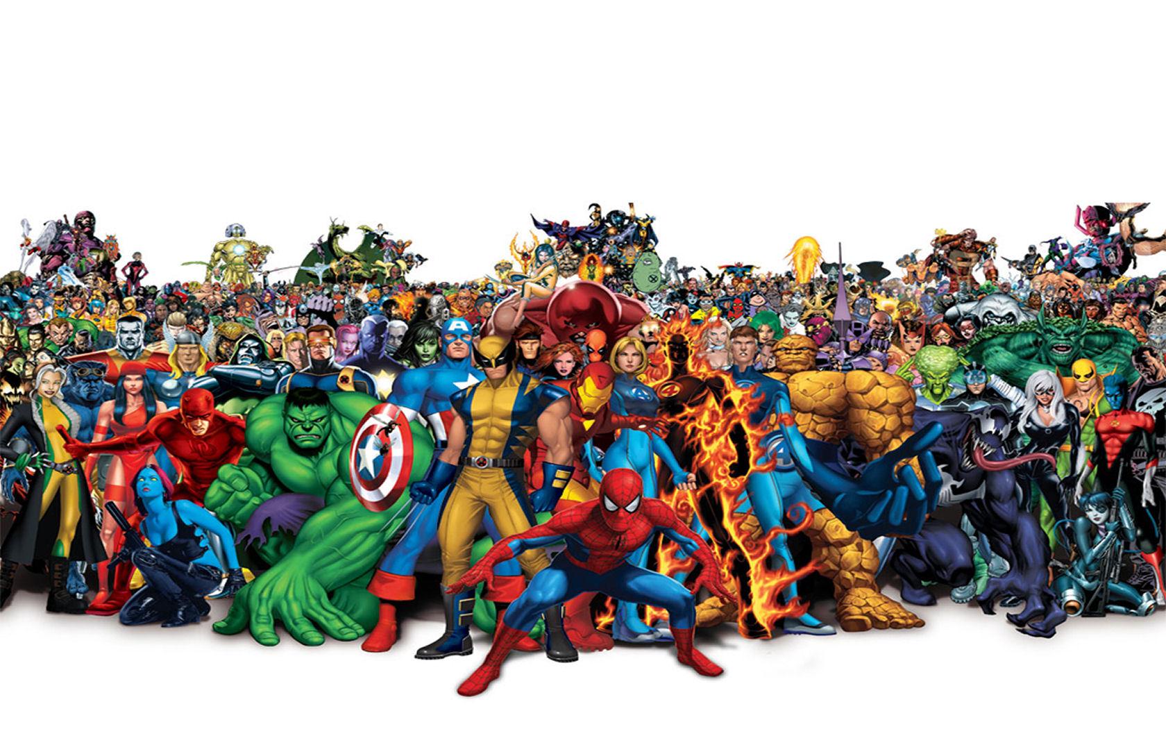 the Marvel Universe Wallpaper Marvel Universe iPhone Wallpaper 1680x1050
