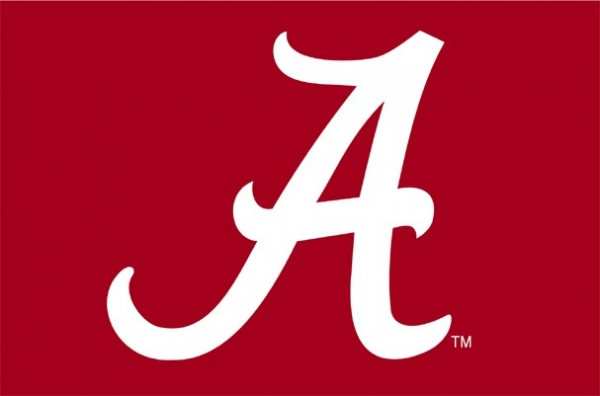 Alabama Crimson Tide NCAA College 39 x 59 Acrylic Tufted Rug 600x396