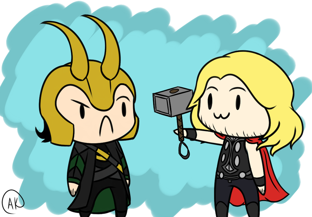 Chibi Loki And Thor Wallpaper Images Pictures   Becuo 1024x711