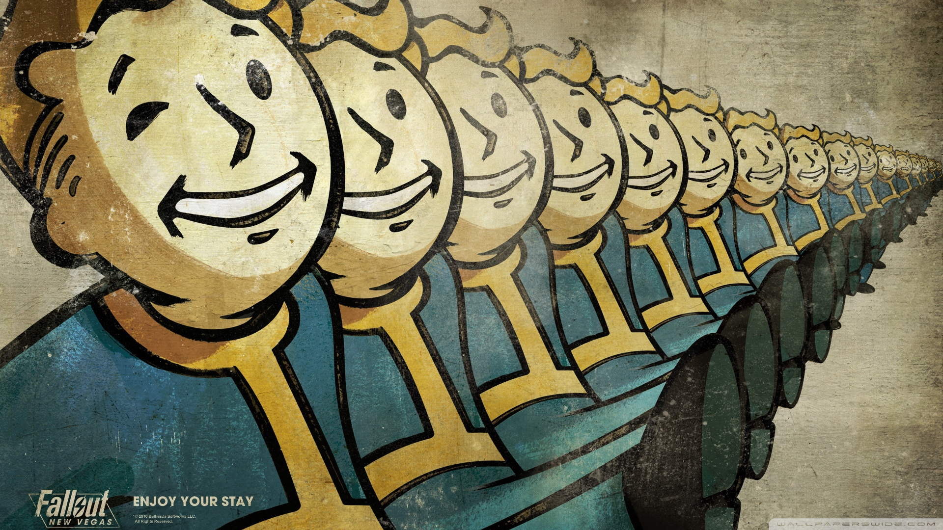 Fallout New Vegas Wallpaper 1920x1080 Vault Boy