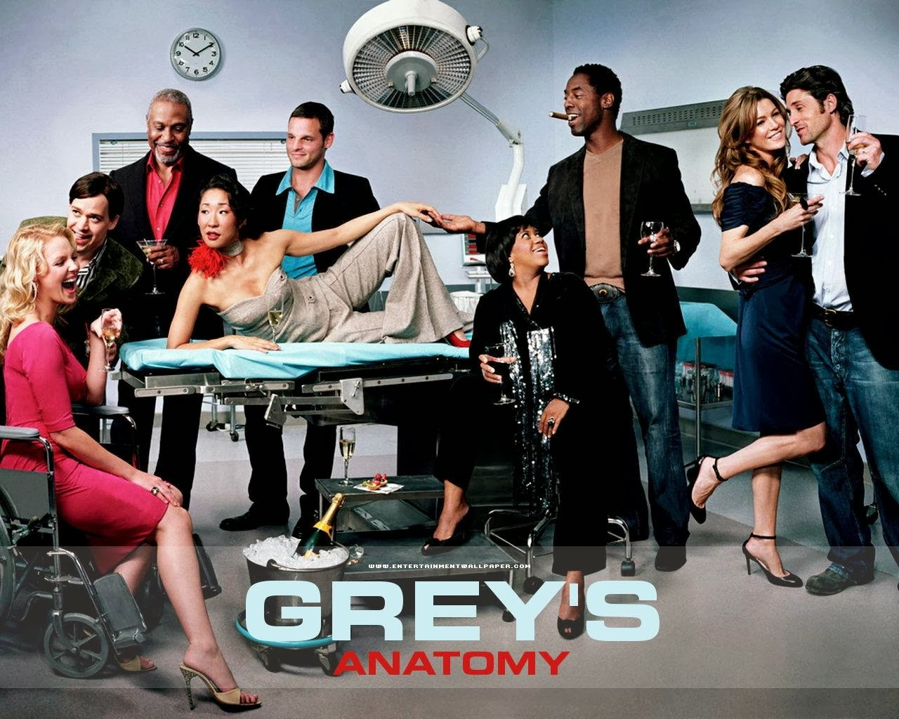 pics arrena Greys Anatomy Wallpapers 1280x1024