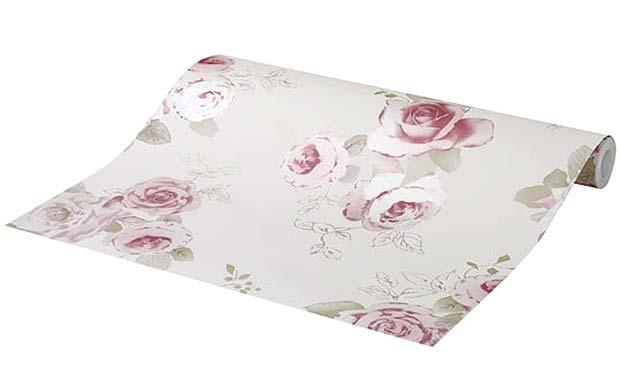 Transform your home with this vintage floral wallpaper 620x388