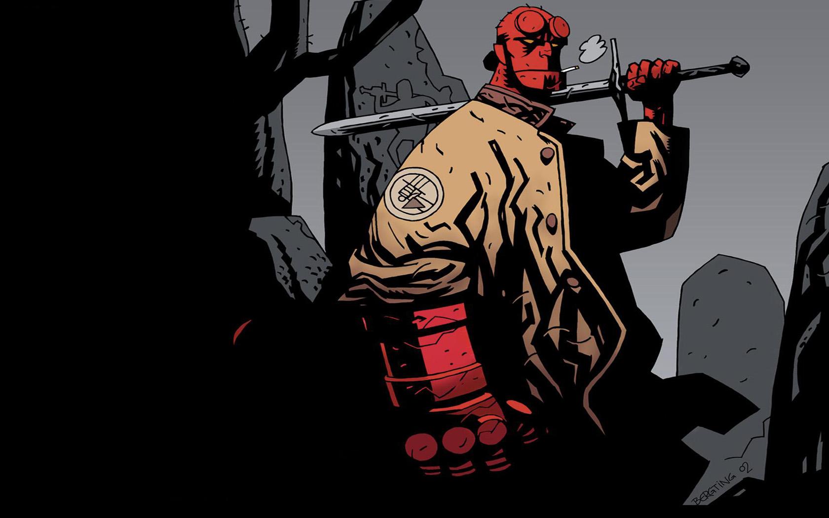 Hellboy Comic Wallpaper 1680x1050 Hellboy Comic 1680x1050